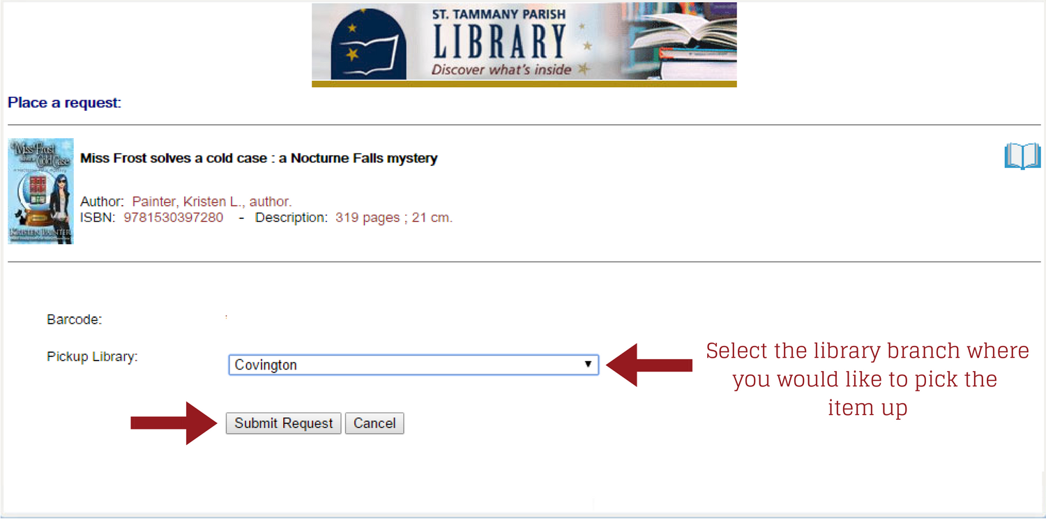 click continue to confirm that you want to place the loan