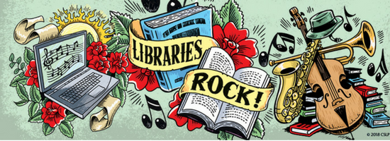 'Libraries Rock!' All Events Registration Links