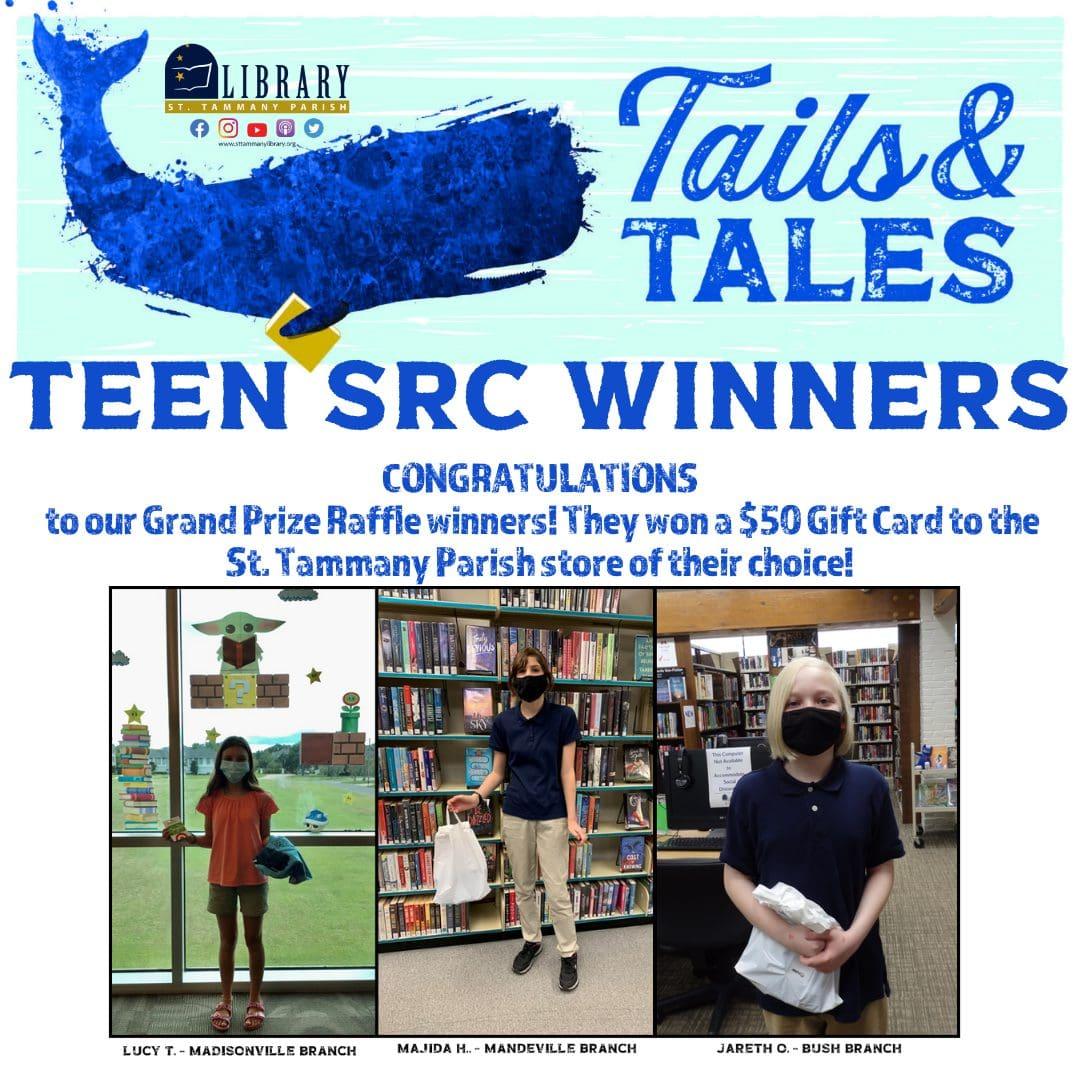 2021 Teen SRC Winners